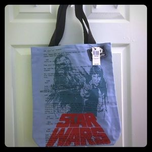 Loungefly Star Wars Han & Chewie Canvas Tote Bag